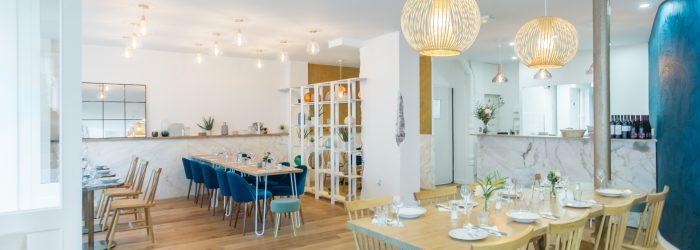 Salle du restaurant Twenty Peas, rue de Domrémy