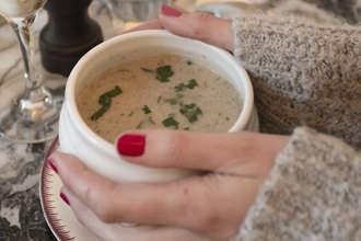 FORMULE 4 : Soupe (à réchauffer) & Salade